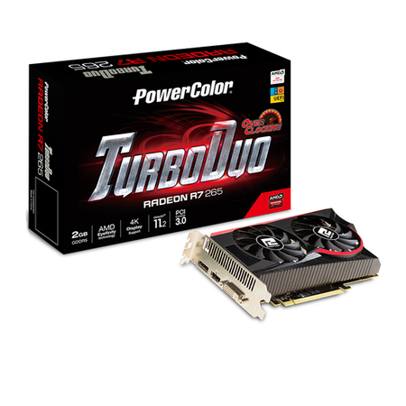 Placa de Vídeo R7 265 2GB DDR5 256Bits AXR7 2GBD5-TDHE/OC - Power Color