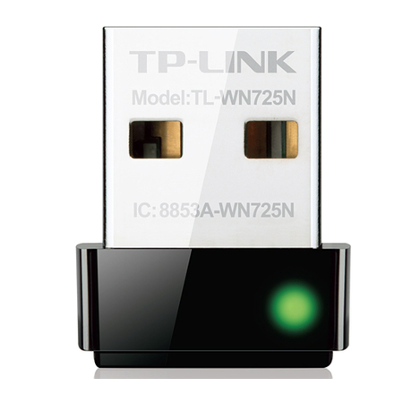 Adaptador Nano Wireless USB 150Mbps TL-WN725N - Tplink
