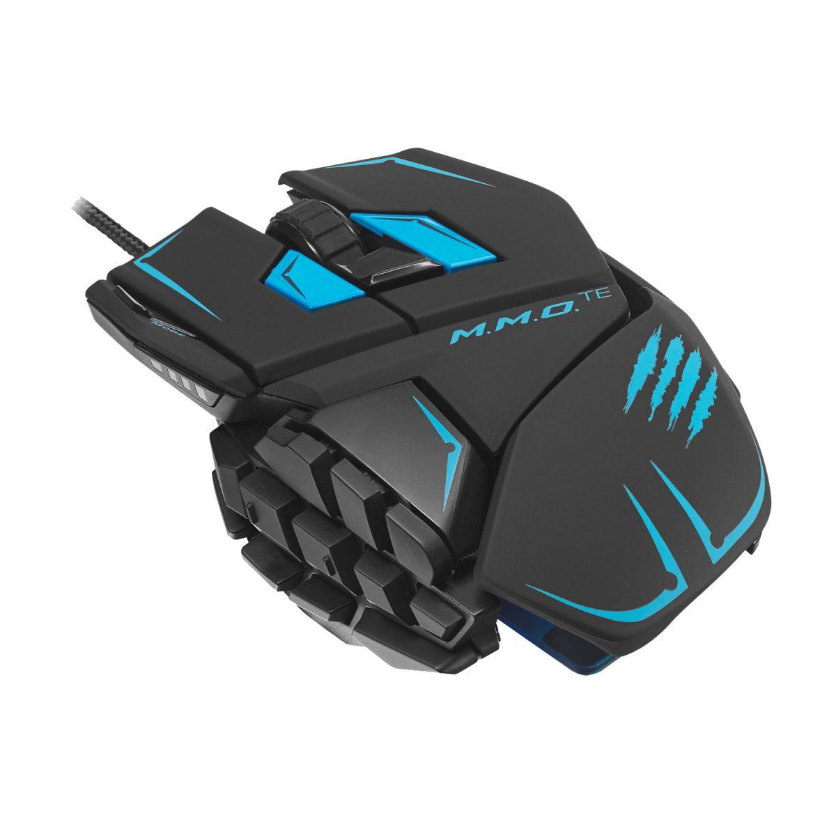 Mouse Gamer Laser Cyborg R.A.T. M.M.O. T.E 8200DPI (Ajustável/Superleve) MCB437140002 - Mad Catz