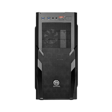 Gabinete Commander G41 Window Mid Tower com USB 3.0 CA-1B4-00M1WN-00 Black - Thermaltake