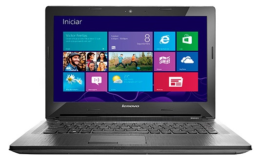 Notebook G40-70 80GA000BBR Intel Core i5 Memória 4GB HD 1TB LED 14 Prata Windows 8.1 - Lenovo