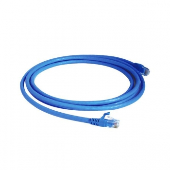 Patch Cord Azul CAT 6E 1.8m PC-ETH6E1801 - Plus Cable