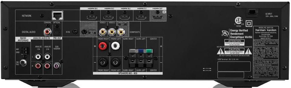 Home Theather HKJ-5000 com Receiver Harman Kardon 3D 375W com Caixas 5.1 Canais JBL - JBL