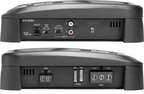 Amplificador GTO-501EZ Mono/Subwoofer 500W RMS - JBL