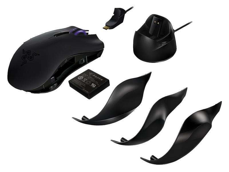 Mouse Laser Naga Epic (funciona com ou sem fio) RZ01-00510100-R3U1 - Razer