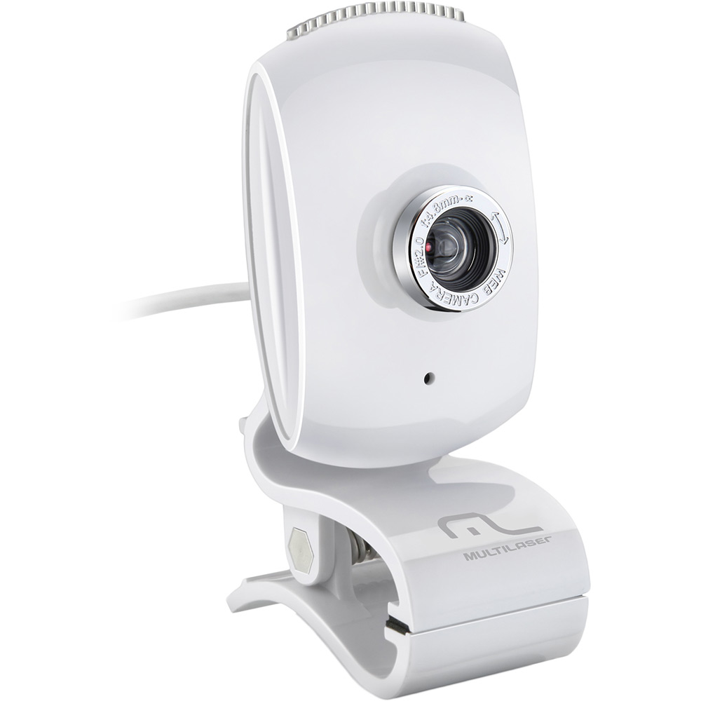 Webcam Facelook Branco WC047 - Multilaser