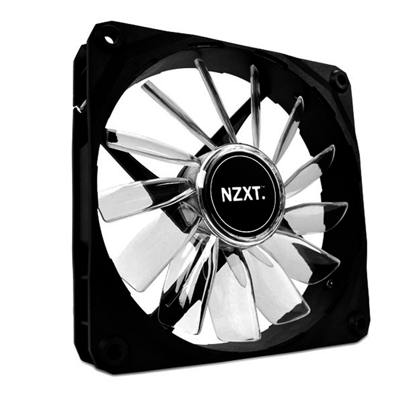 Cooler para Gabinete 120mm com LED Azul FAN-NT-FZ-120-U - NZXT