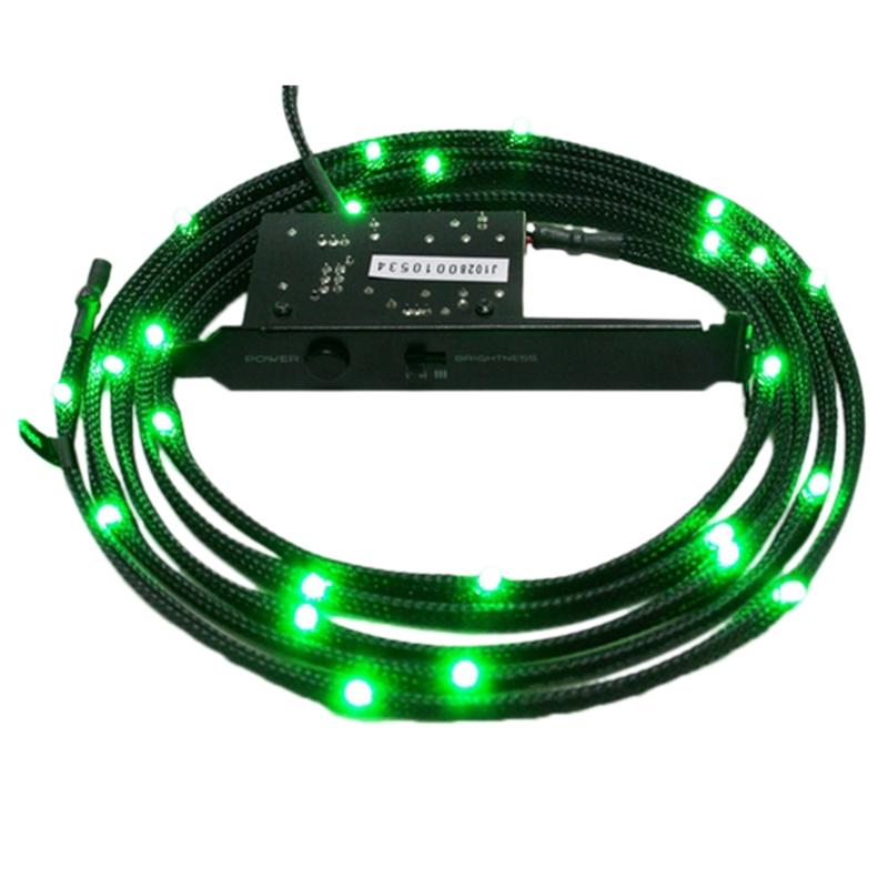 Cabo de LED Verde NT-CB-LED1-G 1 Metro - NZXT