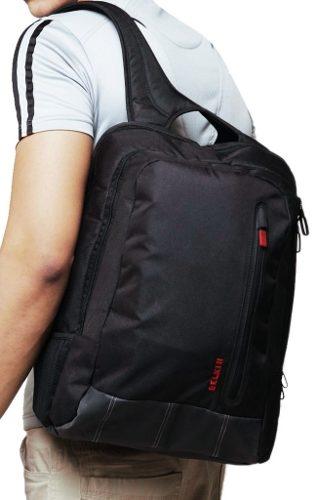 Mochila para Notebook 16 Preta/Vermelha F8N507TTC00-W - Belkin