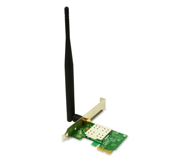 Placa de Rede PCI Express 150Mbps Antena 5DBI ENEWI-1XN45 - Encore