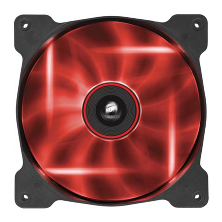 Cooler para Gabinete AIR Series AF140 Quiet Edition LED Vermelho 140mm CO-9050017-RLED - Corsair
