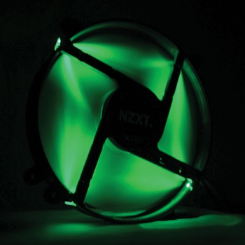 Microventilador NT-LED200G 200mm Verde 17879 - NZXT