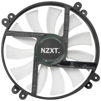 Microventilador NT-LED200R 200mm Vermelho 17880 - NZXT