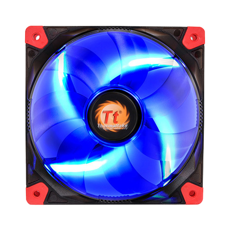 Cooler FAN Luna 12 LED Blue 120mm CL-F009-PL12BU-A Thermaltake