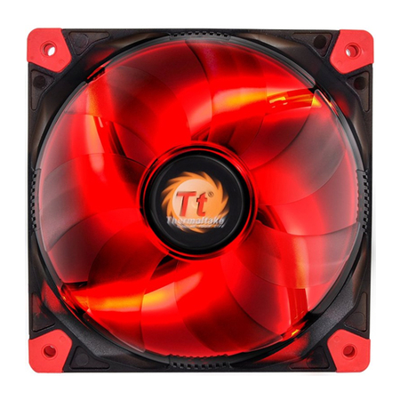 Cooler FAN Luna 12 LED Red 120mm CL-F017-PL12RE-A Thermaltake