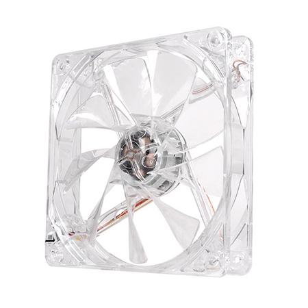 Cooler FAN Pure 12 Transparente LED White 120mm CL-F020-PL12WT-A Thermaltake