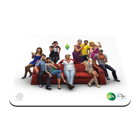 Mouse Pad The Sims 4 67292 - SteelSeries
