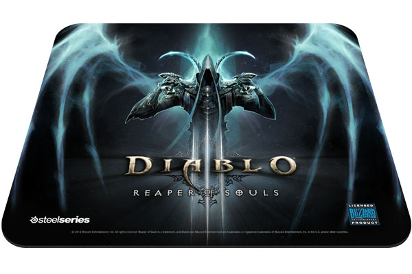 MousePad QcK Diablo 3 Reaper of Souls Edition 67291 - SteelSeries