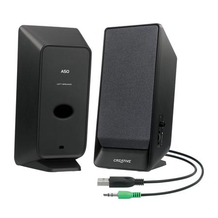 Caixa de Som A50 2.0 USB 51MF1675AA002 - Creative