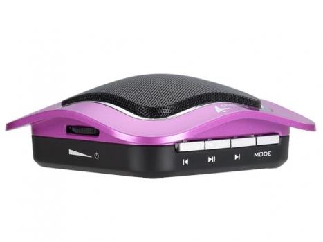 Caixa de Som SP-I400 para Ipad/Iphone 2W RMS com SD Card e Bateria Recarregável (Roxa) - Genius