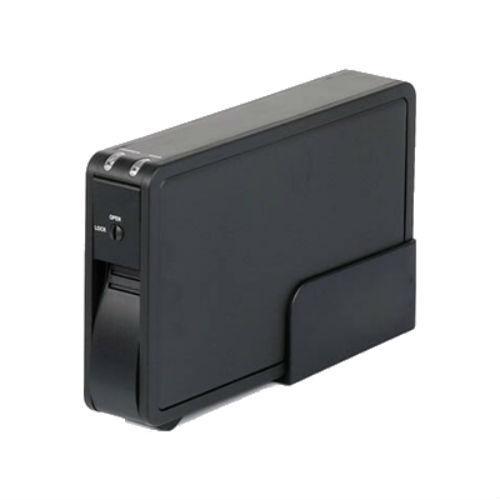 Case P/HD 3,5 USB 2.0 Alumínio MENC-3524/BK - Mymax