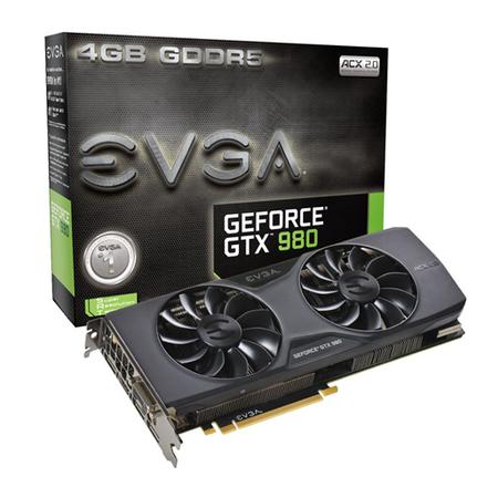 Placa de V�deo Geforce GTX980 ACX 2.0 4GB DDR5 256Bits 04G-P4-2981-KR - EVGA
