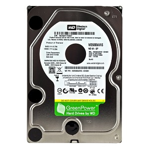 Hard Disk 500GB  Sata 2 7200RPM WD5000AVVS Green - Western Digital