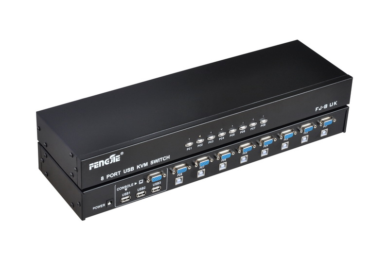 Switch KVM 8 Portas USB FJ-8UK
