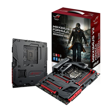 Placa Mãe LGA 1150 Maximus VII Formula Watch Dogs, c/ Quad-GPU SLI / 3-Way CrossFireX - Asus