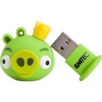 Pendrive 8GB Angry Birds King Pig USB 2.0 - Emtec