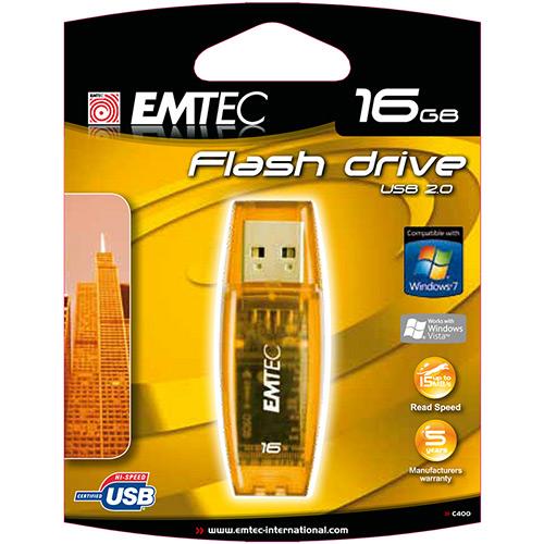 Pen Drive 16GB C400 Amarelo - Nipponic