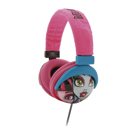 Fone de Ouvido Monster High PH107 - Multilaser