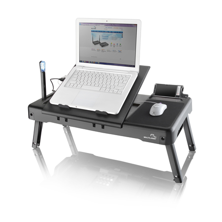 Mesa Portátil para Notebook 3 em 1 com Cooler AC163 - Multilaser