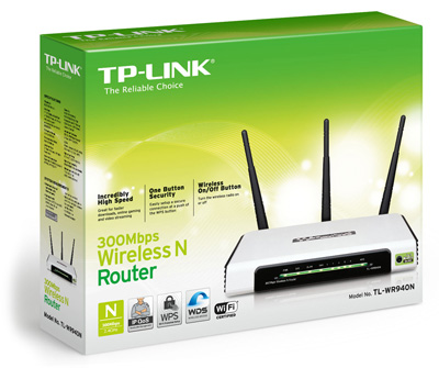 Roteador Wireless 300Mbps WR940N - Tplink