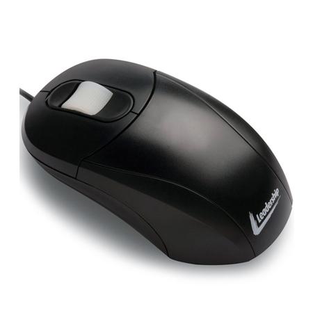 Mouse Óptico USB Preto 4587 - Leadership