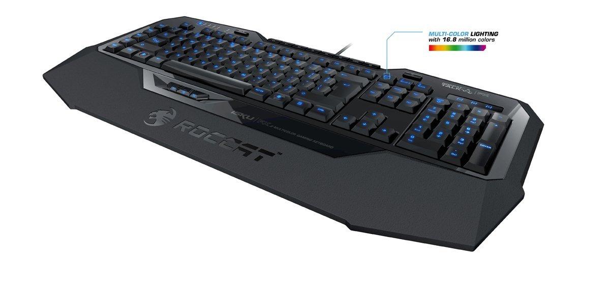 Teclado Gamer Multimidia ISKU FX LED Multicolor ROC-12-901 - Roccat