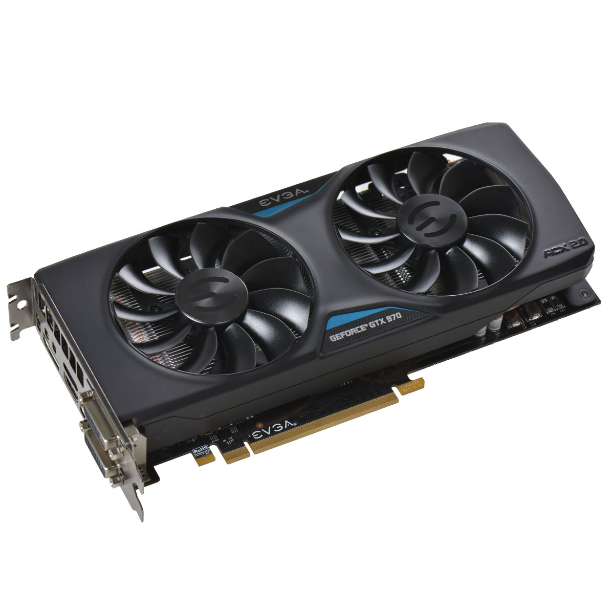 Placa de Vídeo Geforce GTX970 4GB SuperClock DDR5 256Bits 04G-P4-2975-KR - EVGA