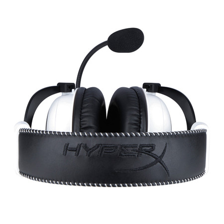Headset Gamer HyperX Cloud KHX-H3CL/W Branco/Preto - Kingston