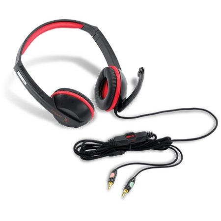 Headset Gamer Hawk 2.0 Vermelho C/Microfone 21833 - PCyes
