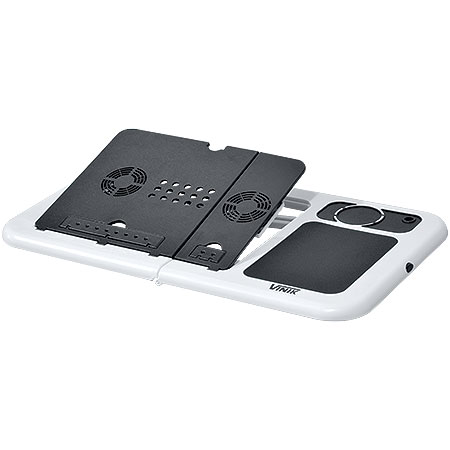 Mesa Portátil Para Notebook C/Cooler Notetab II Branca 21019 - Vinik
