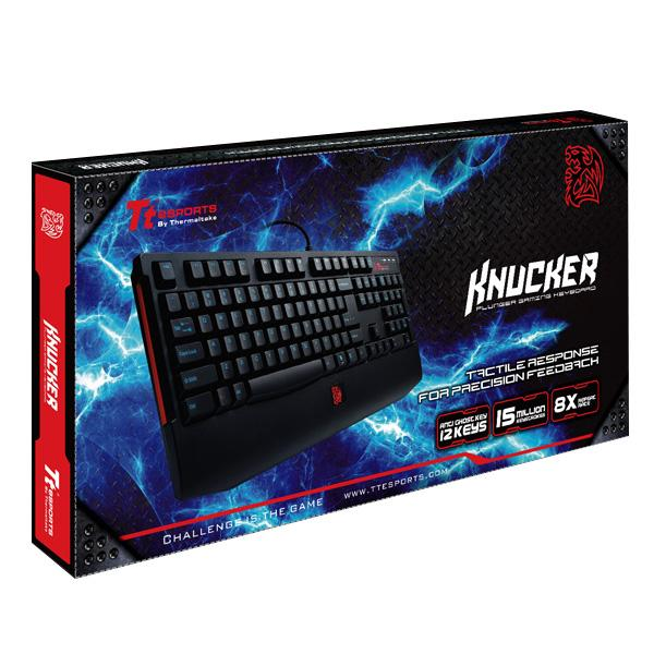Teclado TT Sports Knucker USB KB-KNK008PB - Thermaltake