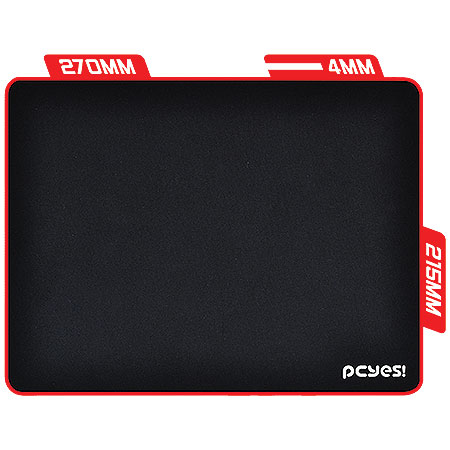 Mouse Pad Gamer Speed Persa 270x215x4mm 19977 - Pcyes