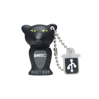 Pen Drive Animals 4GB USB 2.0 M313 The Zoo Bl Panther - Emtec
