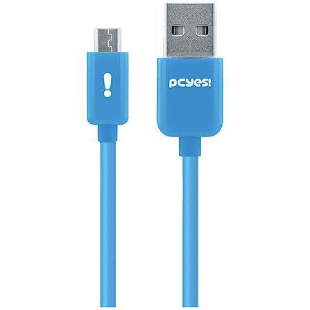 Cabo Micro USB 21678 Azul Linha Mobi - Pcyes
