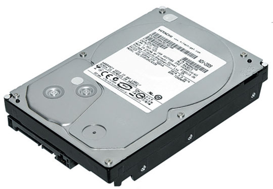 Hard Disk 1TB Sata II 7200RPM HDE721010SLA330 - Hitachi
