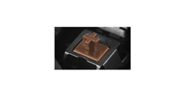 Teclado USB Gamer Mecânico 600K BR Cherry Brown - Cougar