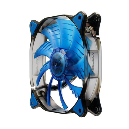 Cooler Fan Dual-X 140x140x25mm Blue LED CF-D14HB-B - Cougar