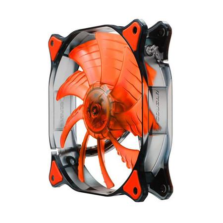 Cooler Fan Dual-X 140x140x25mm Red LED CF-D14HB-R - Cougar
