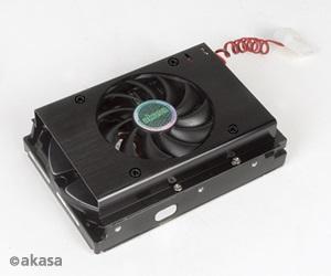 Cooler de 80mm para HD de 3.5 AK-HD02-BK - Akasa