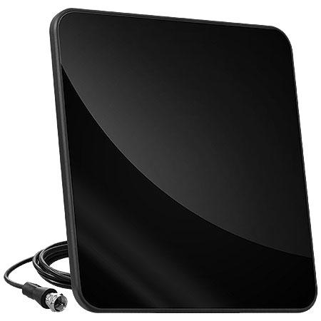 Antena para TV Ultra Slim HDS15 Preta - TVyes